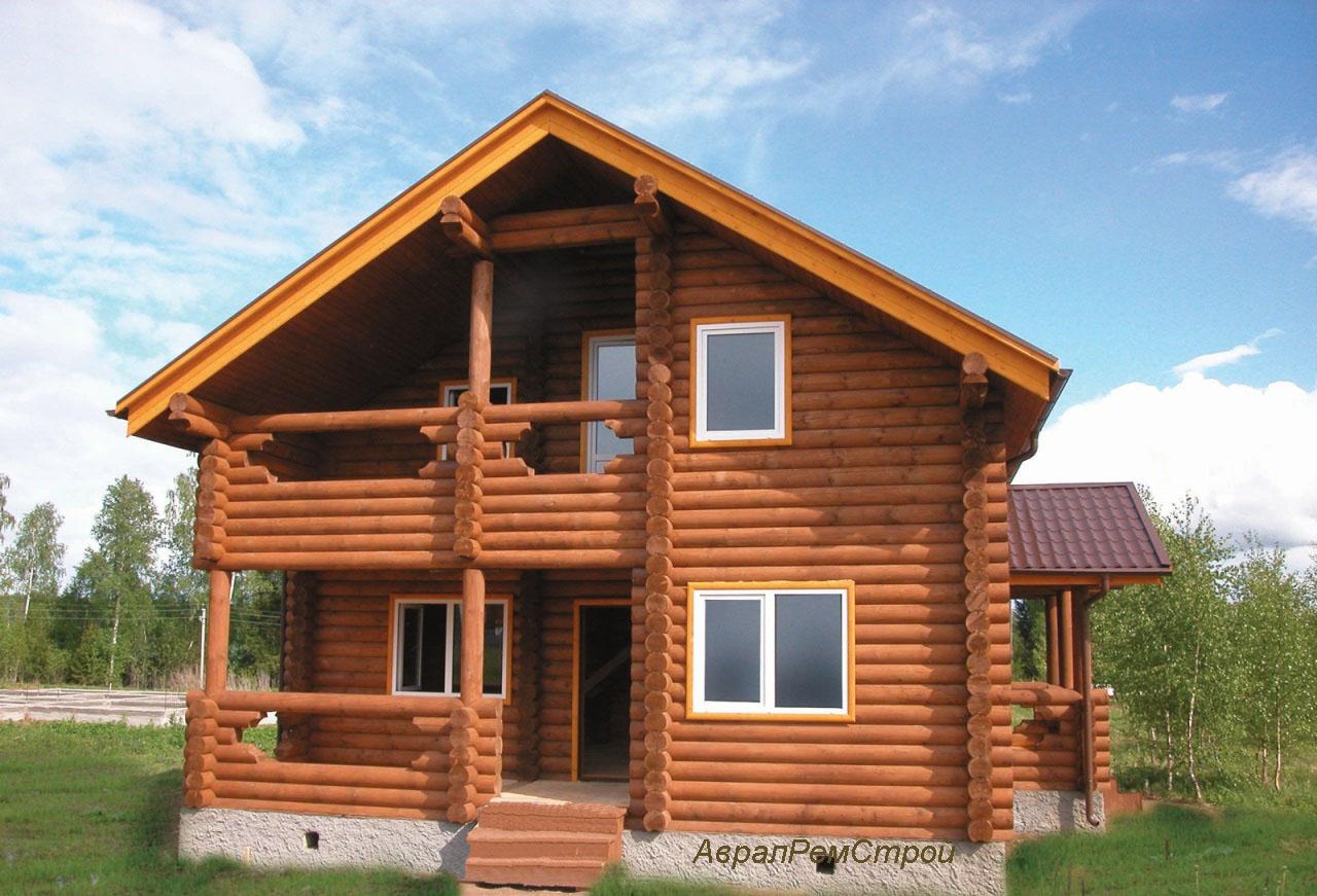 Дом из бревна купить
