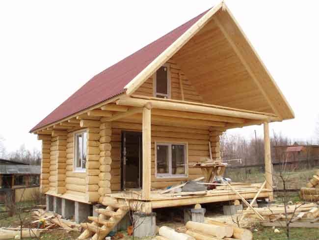 дом из бревна под ключ в Череповце