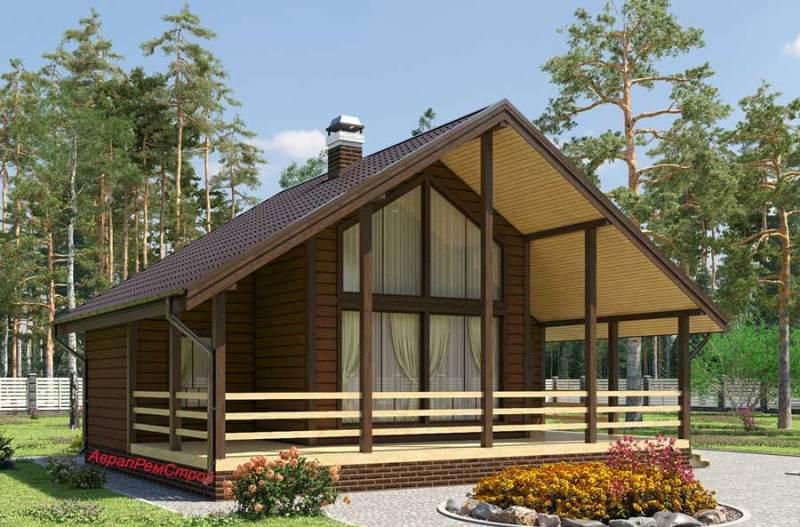 Построить дом из профилированного бруса цена