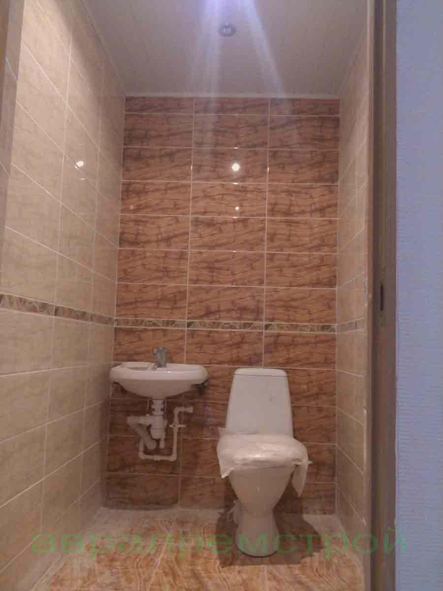 Ремонт санузла туалета в Череповце