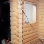 Цена шлифовки сруба дома в Череповце