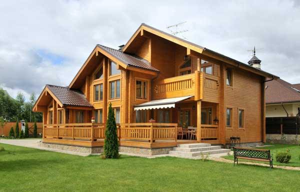 Строительство дома из профилированного бруса под ключ в Череповце