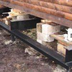 Как поднять деревянный дом в Вологде для ремонта фундамента