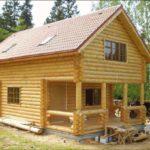 Дом из бревна под ключ для постоянного проживания
