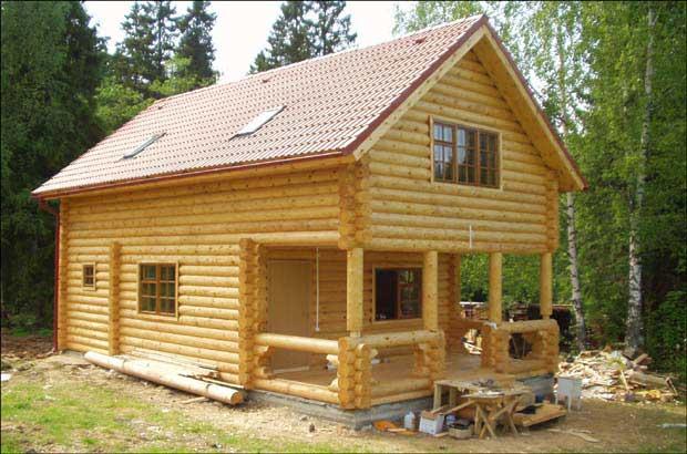 Заказать дом из оцилиндрованного бревна в АвралРемСтрой, стоимость