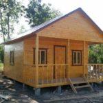 Поднять дом из бревна