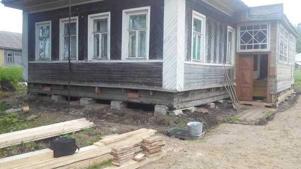 Заменить нижние венцы дома цена в Череповце