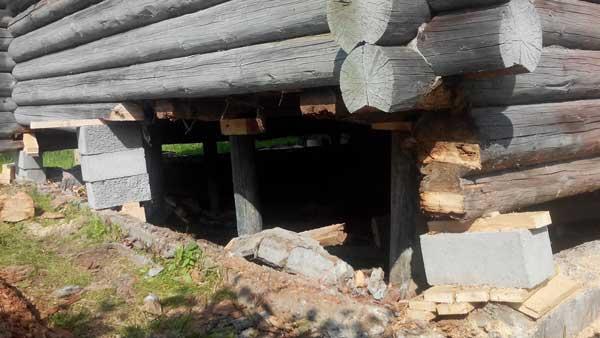 Заменить фундамент дома в Череповце стоимость