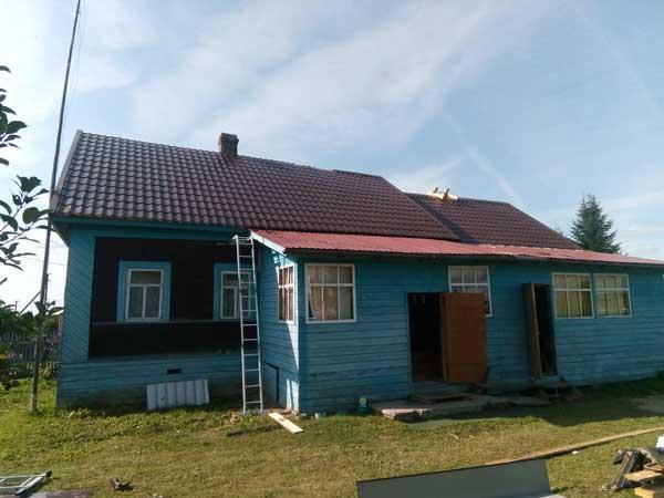 покрыть крышу металлочерепицей цена в Череповце