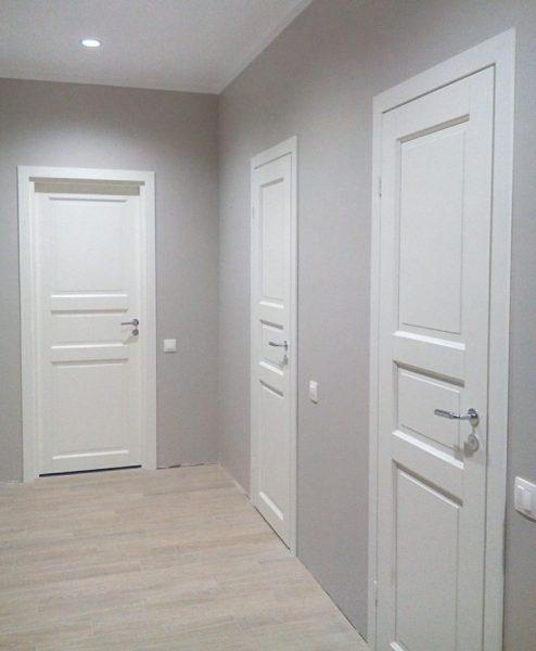 установка дверей в Череповце фото