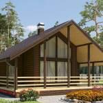 Одноэтажный каркасный дом под ключ цена