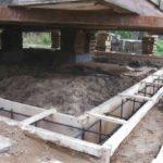 Ремонт фундамента дома